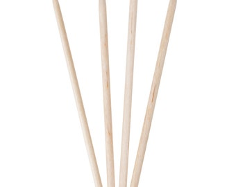 25 Wooden Skewers Candy Apple Sticks shishkabobs grill skewer grilled out fondue party