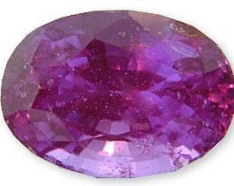 Beautiful Hot Pink-Fuschia Sapphire Gemstone 2.46 carats