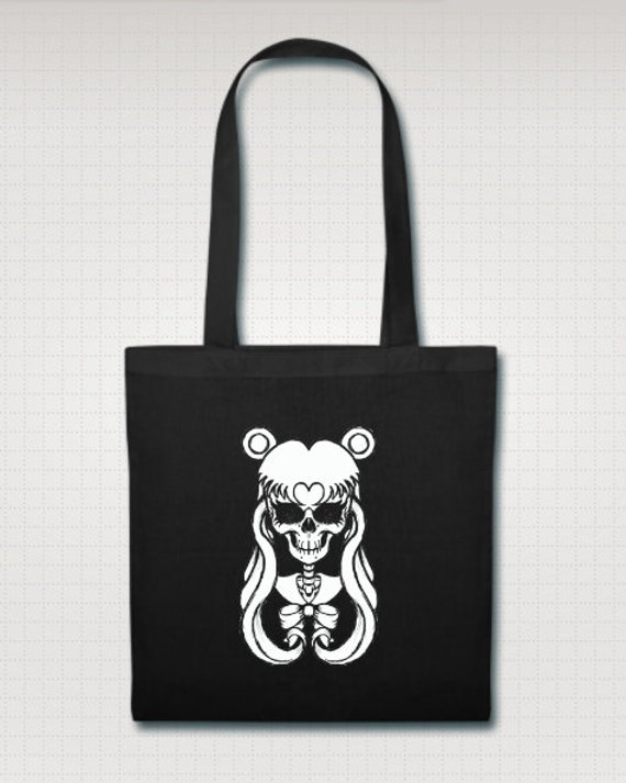 Sailor Moon Skull Tote