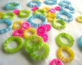 ChiaoGoo  Plastic stitch markers 4 sizes 40 peices