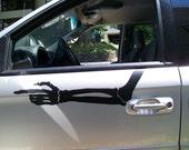Mad Max Furiosa War Rig Skeletal Arm Vinyl Car Decals
