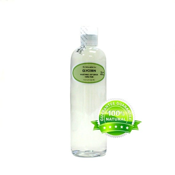 Vegetable glycerin use