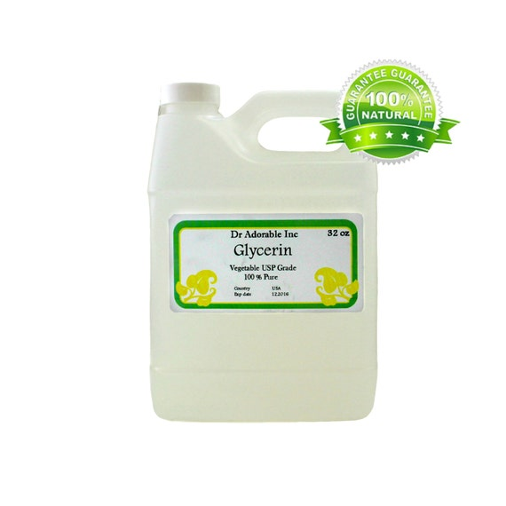 32 OZ Glycerine (GLYCERIN), USP Grade Vegetable Pure