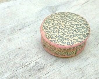 Antique pharmacy pillbox VINTAGE PILL BOX