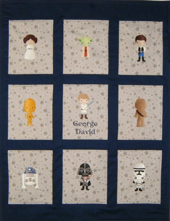 Embroidered Star Wars Baby
