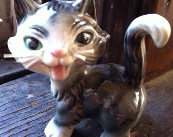 Vintage west Germany goebel cat