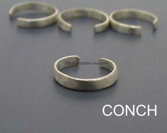 Conch earring, silver streak ear cuff, men's ear cuff, sterling silver, cartilage earring, non pierced earring, conch piercing, 104J