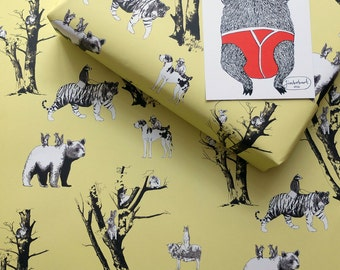 Jimbob Wrap - 5 sheets of wrapping paper