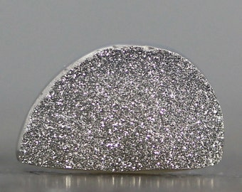 CLEARANCE - SALE - BARGAIN - Destash, Deal, Discounted, Price Reduced, Budget Jewelry Close Out - Silver Druzy (10259)