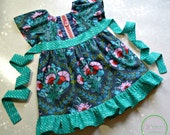 Girls Clothing,Easter Dress,Spring Dress,Girls Dress,Special Occasion,Peasant Dress,Twirl Dress, Sizes 12MO,18MO,2T,3T,4T,5T,6,7,8,9,10