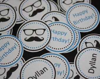 150 pieces Personalized Moustache Disguise Confetti