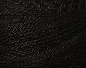 Size 12, 1, Valdani Perle Cotton, Black