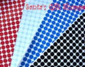 """70 1/2"""" Vinyl Decal Polka Dot Gloss Sticker Sheet - 70 Polka Dots -  Bachelorette Parties - Birthday Parties - Scrapbooking"""