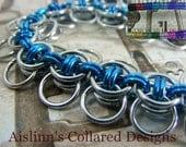 Celtic Wings BDSM Slave Collar Choker Necklace Silverbase