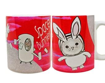 Space Bunnies Mug