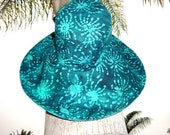 Large Brimmed Sun Hat Boating Fishing Hat Gardening Gift by Freckles California