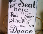 Wedding Sign, Seating Assignment, Dance Sign,  Rustic, Vintage, Barn, Reception Decor, Wood