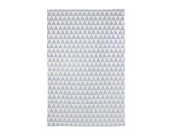 Triangles Tea Towel - Geometric Modern Organic Cotton