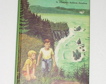 The Haunted Cove Weekly Reader Children's Book Club Edition 1971 Juvenile Literature Hazelton Vintage Book Reading Adventure
