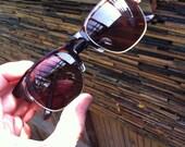 custom order sunglasses lenses Wood grain eyebrow glasses with wood watch