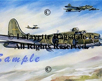 Memphis Belle...Mission Accomplished Print Lafayette Ragsdale
