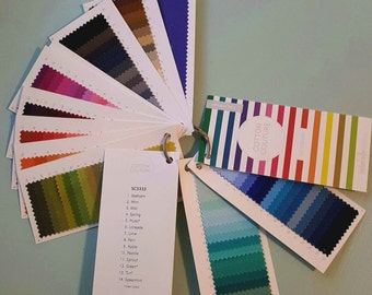Michael Miller Cotton Couture Solids Sample Card 150 Colors - New Format!