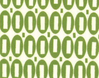 American Jane Pezzy Print tonal lime moda fabrics FQ or more