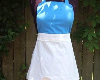 Belle Blue Dress Up Apron for Ladies
