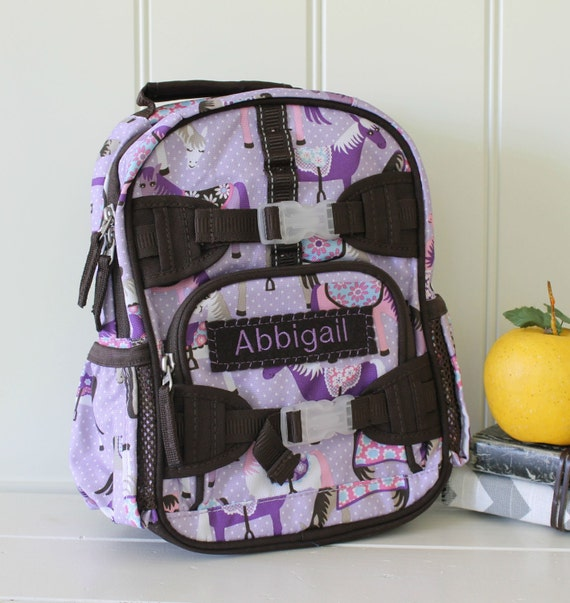 Mini Backpack With Monogram Pottery Barn Mini Size