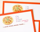 Pizza > Life - A5 Stationery - 12, 24 or 48 sheets