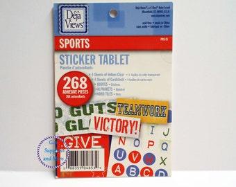 New 268 SPORTS Sticker Tablet