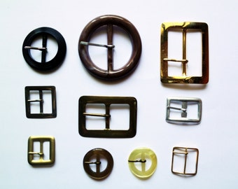 Vintage Belt Buckles Variety Pack ALL NEW 3