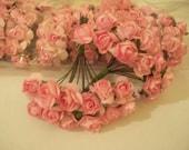 Mini Paper Flowers Pink