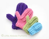 Download Now - CROCHET PATTERN Cozy Cable Mittens