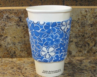 Insulated Quilted To Go Cup Cozy Sleeve