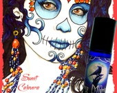 SWEET CALAVERA Perfume Oil - Spun Sugar, Spanish Moss, Vanilla, Fig - FEATURED in Dead Sexy: The Walking Dead Fan Guide - Day of the Dead