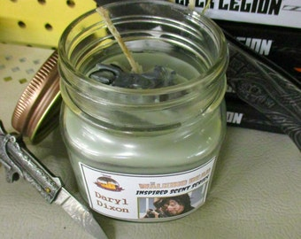 Walking Dead Inspired Daryl Dixon 8oz Candle