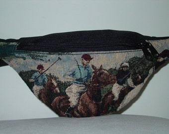 POLO Horse and Rider Small Fanny,Equestrian Handbags,Polo Horse Handbag