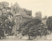 CRAIGMILLAR CASTLE unused Vintage Postcard Edinburgh Scotland Medieval Castle Postcard Reliable series