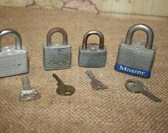 Vintage Locks - Master Lock, Walsco - item #1252