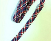 Red White and Blue plaid trim tape