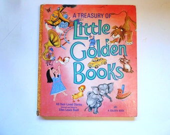 A Treasury of Little Golden Books, a Vintage Children's Book