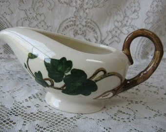 metlox poppy trail california ivy creamer hand painted mid century pottery