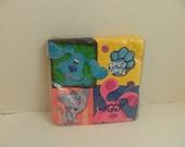Blue Clues Party Express Nick Jr. TV Show Paper Beverage Napkins 16 pack