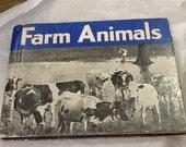 Vintage FARM ANIMALS Book Hardback James Gilchrist Lawson 1935