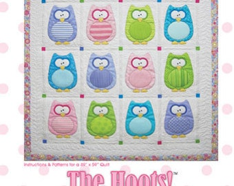 The Hoots Quilt Pattern by Amy Bradley Designs