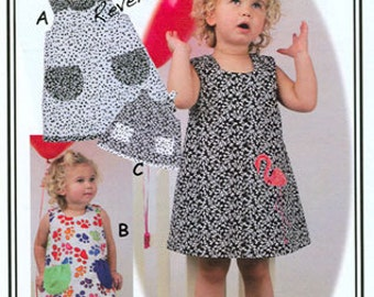 Jump-N Dress, Top, & Dolldress Pattern from Olive Ann Designs