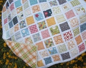 Playtime Fun......Baby/Toddler Fray Edge Quilt.....Shower Gift....Ready to Ship