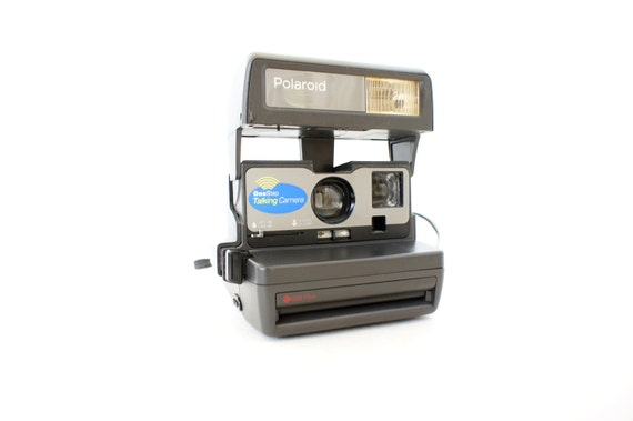 Talking Polaroid Camera 636 OneStep - Film Tested Working