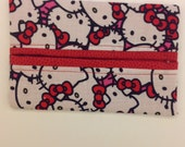 Kitty Fabric Tissue Holder
